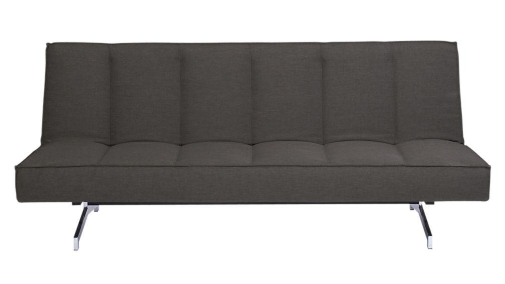 Flex Grey Queen Sleeper Sofa | Cb2 Throughout Everyday Sleeper Sofas (Image 10 of 20)
