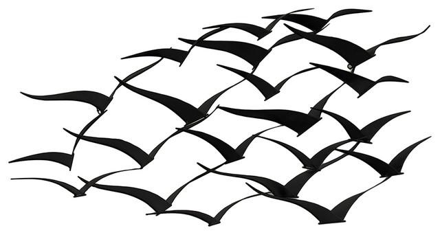 Featured Image of Flock Of Birds Wall Art