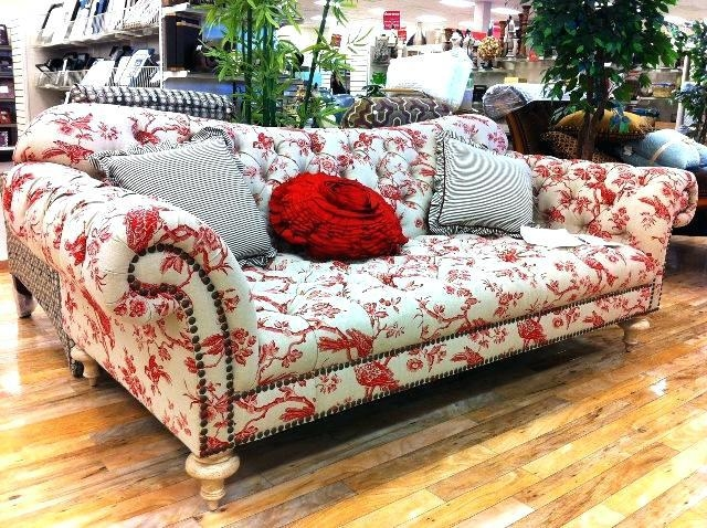 Floral Patterned Sofa – Seedabook With Floral Sofas (Photo 14 of 20)