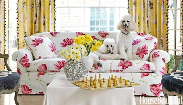 Floral Sofas – Floral Home Decor Pertaining To Floral Sofas (View 8 of 20)