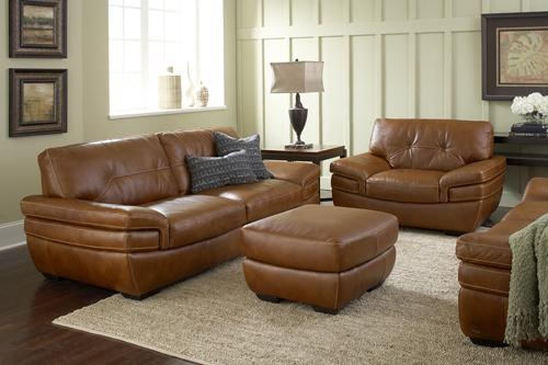 Florida Inspired Living – One Italian Furniture Maker Made Intended For Burnt Orange Leather Sofas (View 5 of 20)