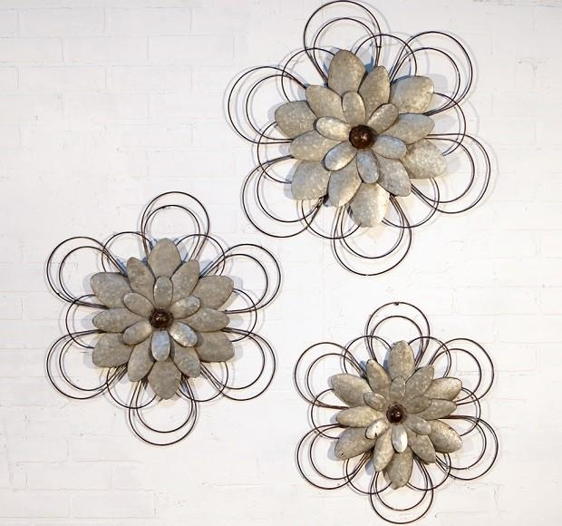 Flower Metal Wall Art Awesome Wall Art Decor For Bathroom Wall Art Intended For Metal Wall Art For Bathroom (Photo 11 of 20)