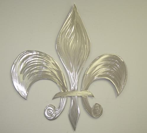 Fluer De V Style2 Regarding Metal Fleur De Lis Wall Art (View 17 of 20)
