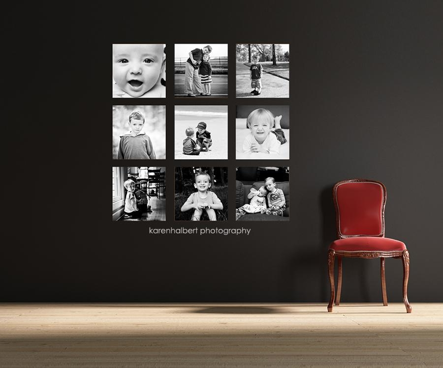 For My Wall [Personal Project] | Nashville Modern Custom Family Intended For Family Photo Wall Art (View 11 of 20)