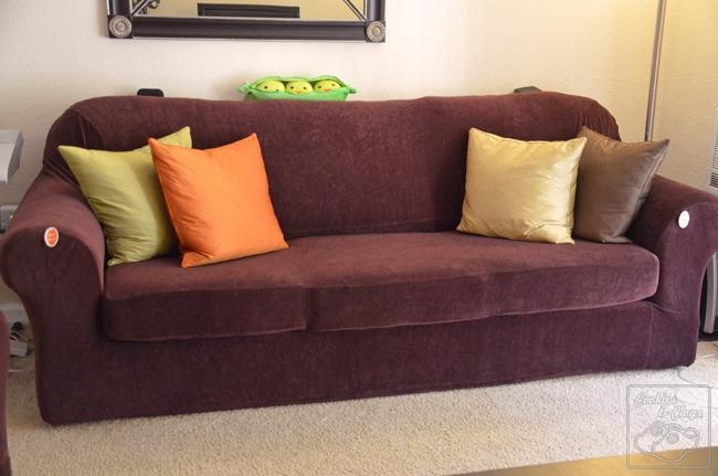 Form Fit Vs Relaxed Sure Fit / Surefit Furniture Covers Sofa, Loveseat For Stretch Slipcovers For Sofas (Image 2 of 20)