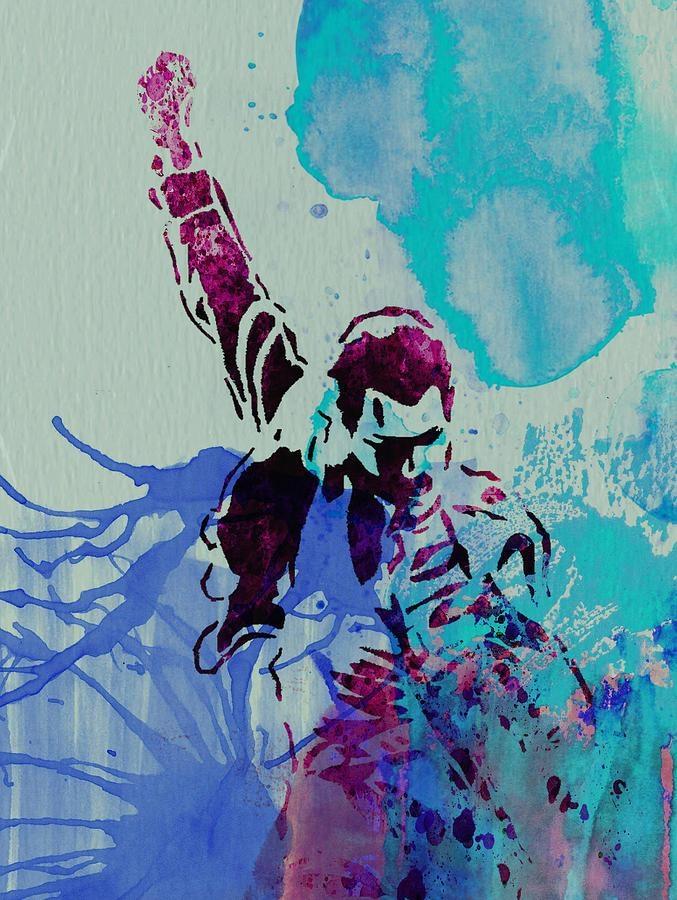 Freddie Mercury Paintingnaxart Studio Regarding Freddie Mercury Wall Art (Image 8 of 20)