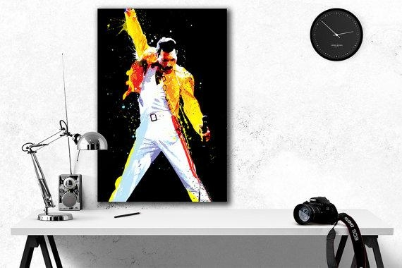 Featured Image of Freddie Mercury Wall Art