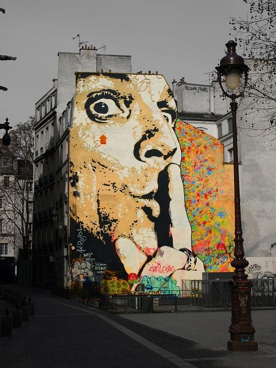Free Photo: Salvador Dalí, Graffiti, Wall, Art – Free Image On With Regard To Salvador Dali Wall Art (Image 7 of 20)