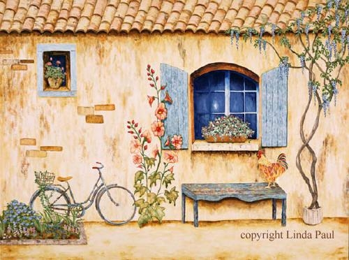 French Art Prints – French Country Art Prints Of France Within French Country Wall Art Prints (Image 8 of 20)