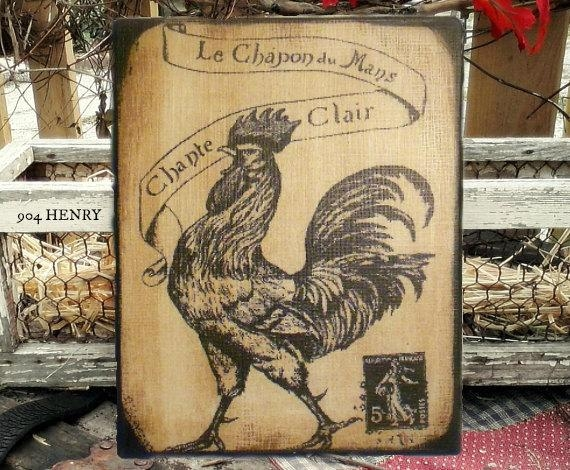 French Country Kitchen Wall Art – Video And Photos For Country French Wall Art (Image 13 of 20)