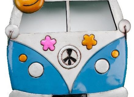 Funky Girl Bedroom Wall Art Bedroom Contemporary With Mural Metal Inside Campervan Metal Wall Art (View 16 of 20)