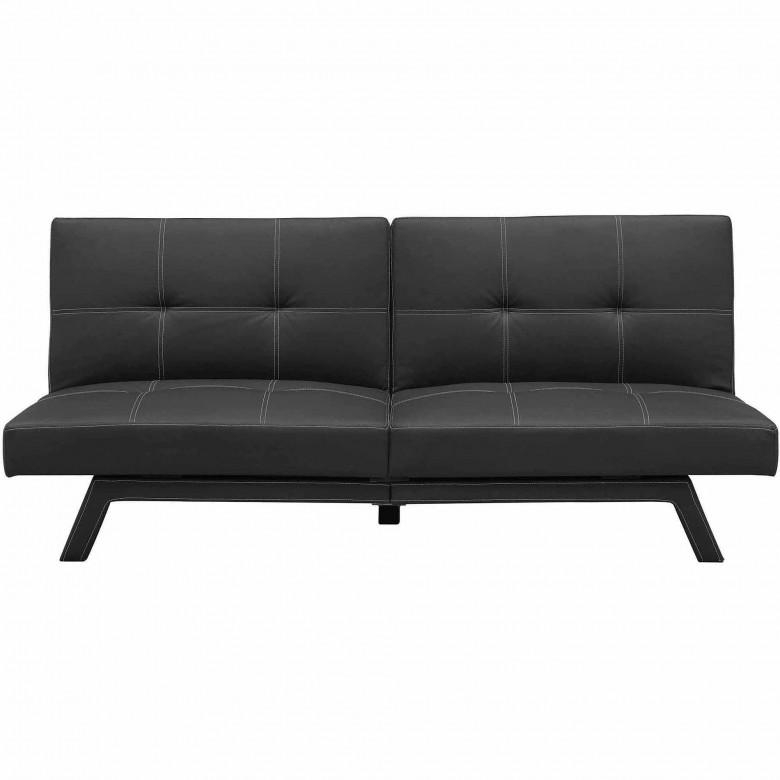Furniture: Leather Futon Walmart With Modern Look And Stylish With Kmart Futon Beds (View 6 of 20)