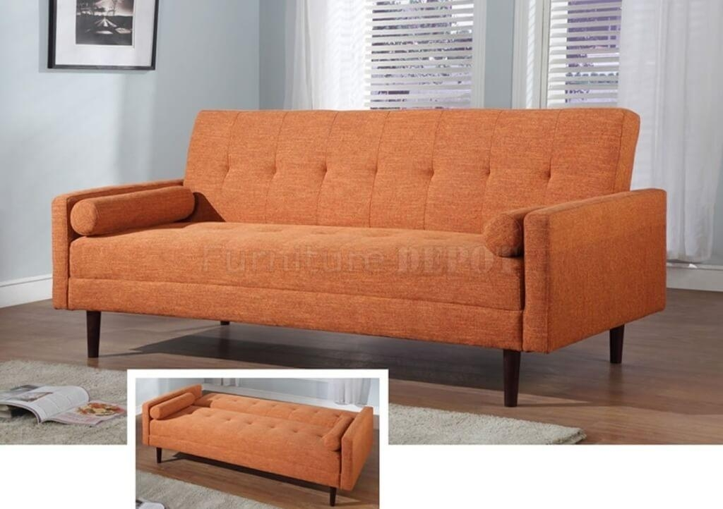 The 25 Best Orange Leather Sofas Ideas On Pinterest: Queen Size Convertible Sofa Beds