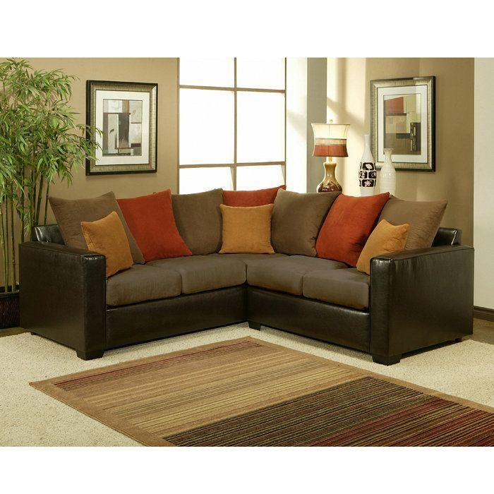 Furniture : Modern Cushioned L Shaped Sectional Sofa With Within Small L Shaped Sectional Sofas (View 13 of 20)