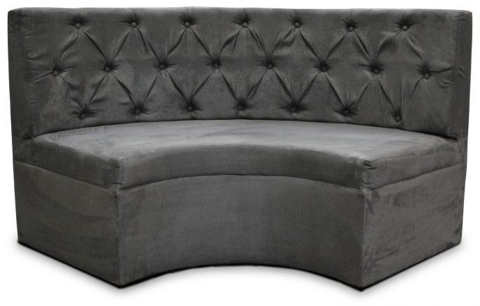 Furniture: Sectional Sofa Dimensions Red Leather Curved Couch With With Regard To Charcoal Gray Sectional Sofas (Image 10 of 20)