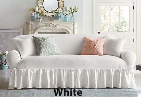 Furniture Slipcovers In Essential Twill Shabby Chic In Shabby Chic Slipcovers (Image 10 of 20)