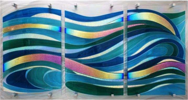 Fused Glass Wall Artfrank Thompson With Regard To Fused Glass Wall Art (View 17 of 20)