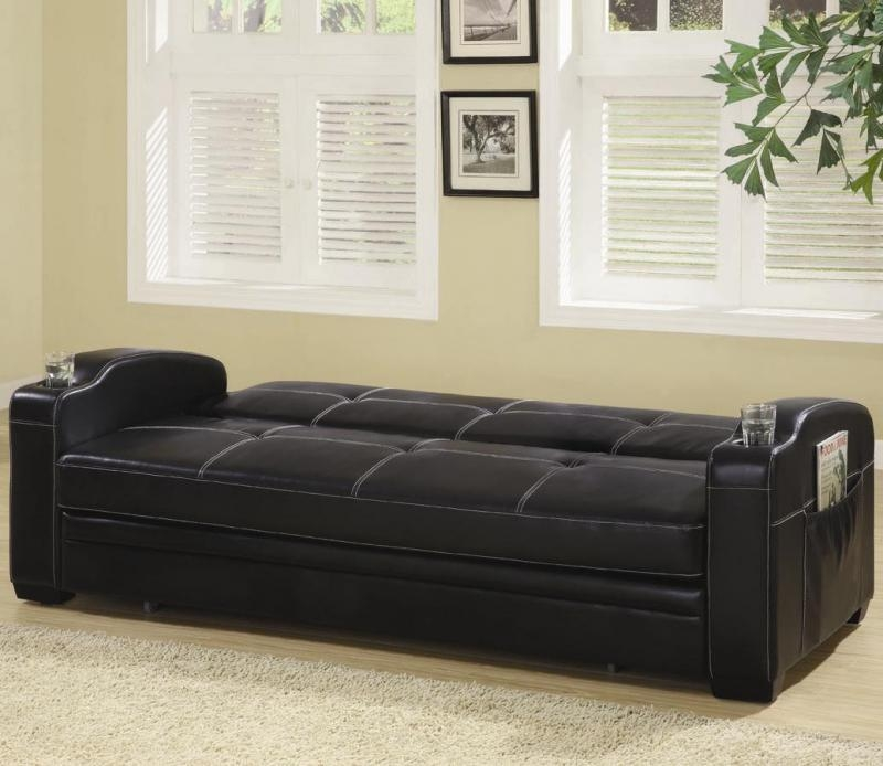 Futon Trundle Bed – Bm Furnititure Pertaining To Sofas With Trundle (Image 12 of 20)