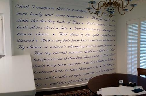 Gallery – Design Your Own Wall Decal & Inspirational Quotes Wall Art (Image 8 of 20)