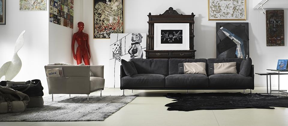 Gamma Arredamenti: Fall In Love With Leather – Cantoni Intended For Cantoni Sofas (View 13 of 20)