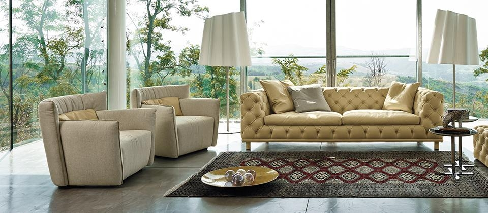 Gamma Arredamenti: Fall In Love With Leather – Cantoni With Regard To Cantoni Sofas (View 7 of 20)