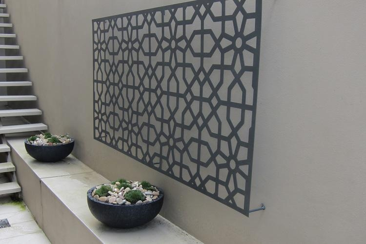 Garden Metal Wall Art Ideas | Eva Furniture Intended For Outside Wall Art (Image 12 of 20)
