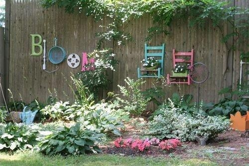 Garden Wall Decoration Ideas With Well Incredible Diy Garden Fence Inside Diy Garden Wall Art (View 11 of 20)
