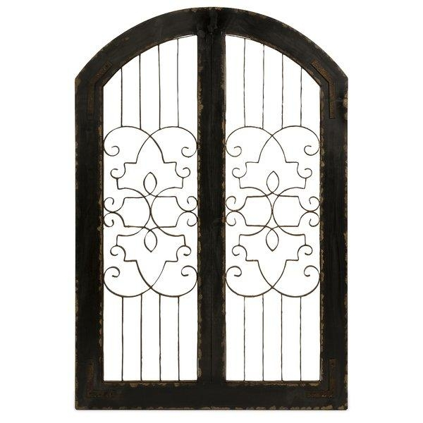 Gate Wall Decor | Wayfair Pertaining To Metal Gate Wall Art (Image 16 of 20)