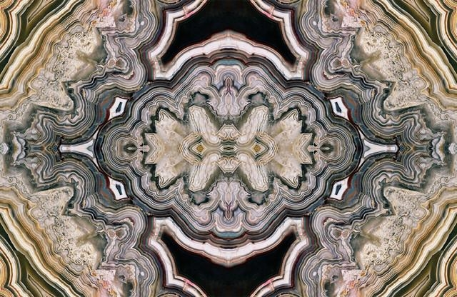 "Geode Agate"" Wall Art, 12""x16"" – Prints And Posters Heather Throughout Kaleidoscope Wall Art (View 14 of 20)"