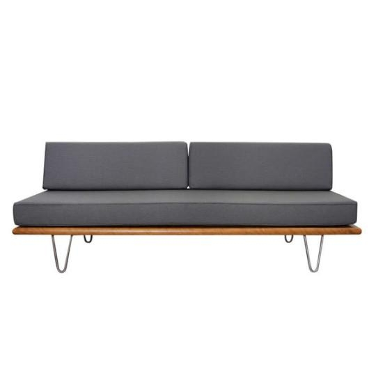 George Nelson Daybed Sofas Black Original In Berlin Furniture Modern Throughout George Nelson Sofas (Image 3 of 20)