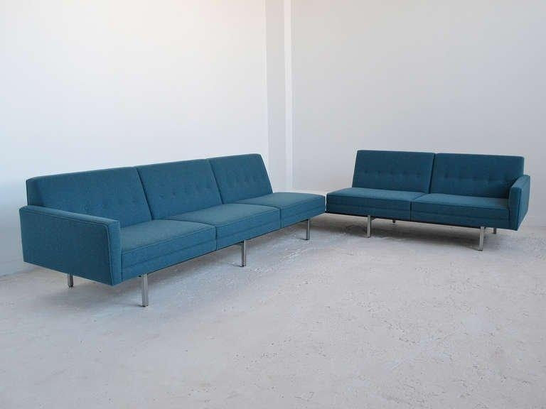 George Nelson Modular Group Sectional Sofaherman Miller At 1Stdibs Throughout George Nelson Sofas (View 3 of 20)