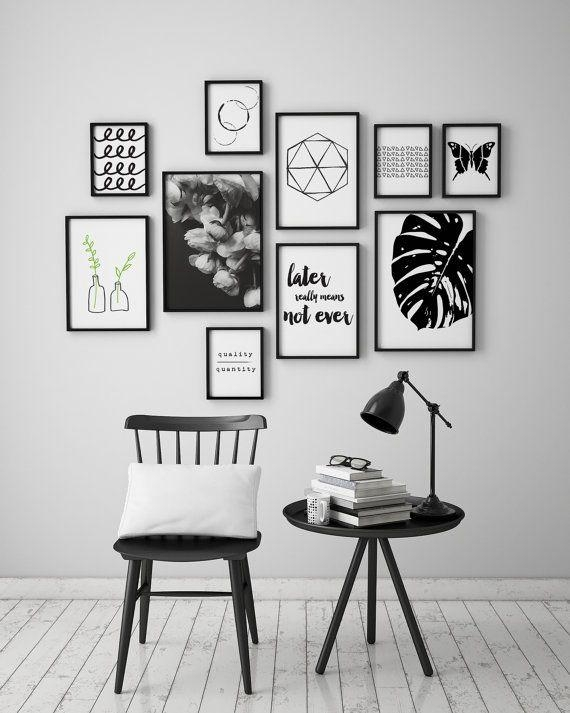 Get 20+ Black Wall Art Ideas On Pinterest Without Signing Up For Black And White Wall Art (View 1 of 20)
