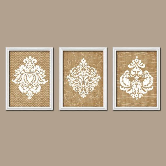 Get 20+ Black Wall Art Ideas On Pinterest Without Signing Up Regarding Black And White Damask Wall Art (View 8 of 20)