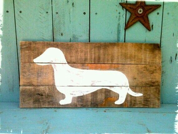 Get 20+ Dachshund Art Ideas On Pinterest Without Signing Up Intended For Dachshund Wall Art (View 5 of 20)