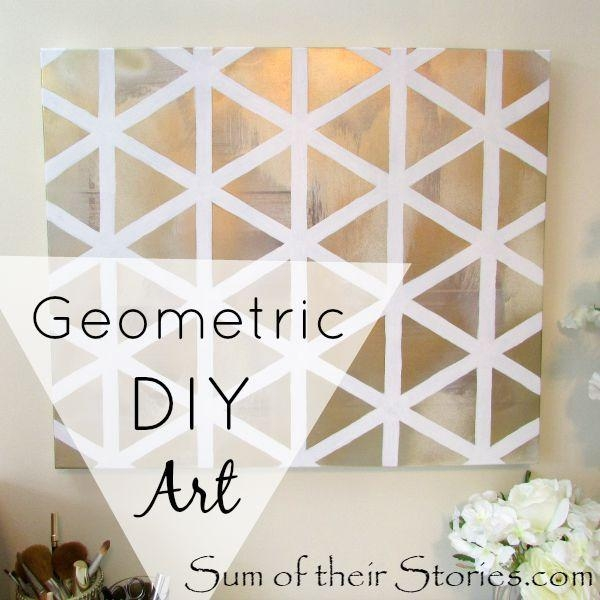 Get 20+ Homemade Wall Art Ideas On Pinterest Without Signing Up In Homemade Wall Art (Image 11 of 20)