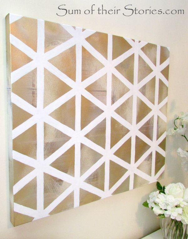 Get 20+ Homemade Wall Art Ideas On Pinterest Without Signing Up Pertaining To Homemade Wall Art (View 19 of 20)