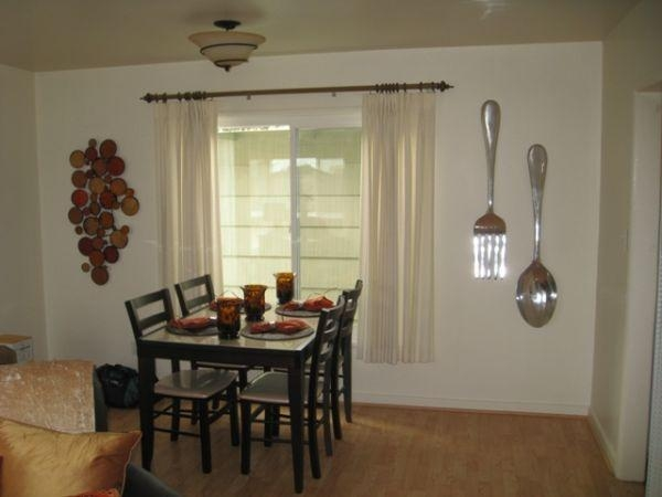 Giant Spoon And Fork Wall Pic Photo Fork And Spoon Wall Decor With Big Spoon And Fork Decors (View 8 of 20)