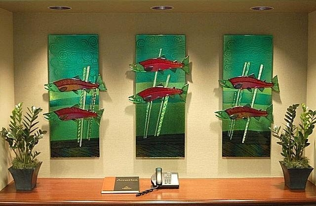 Glass Wall Art | Glass Artists Gallery For Fused Glass Wall Art Panels (Image 14 of 20)