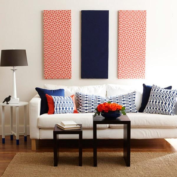 Go From Blank To Beautiful With Fabric Wall Art – Modernize Inside Fabric Wall Art (Image 14 of 20)