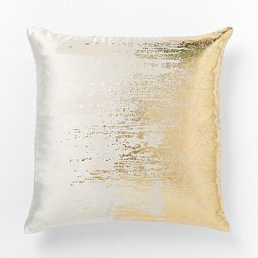 Gold And White Throw Pillows With Gold Sofa Pillows (Image 6 of 20)