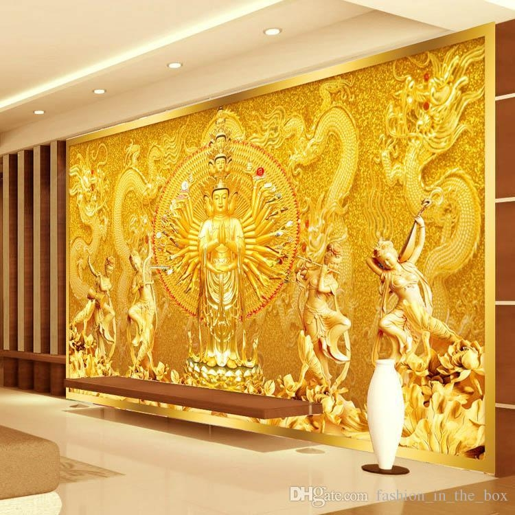 20 Best Ideas 3D Buddha Wall Art
