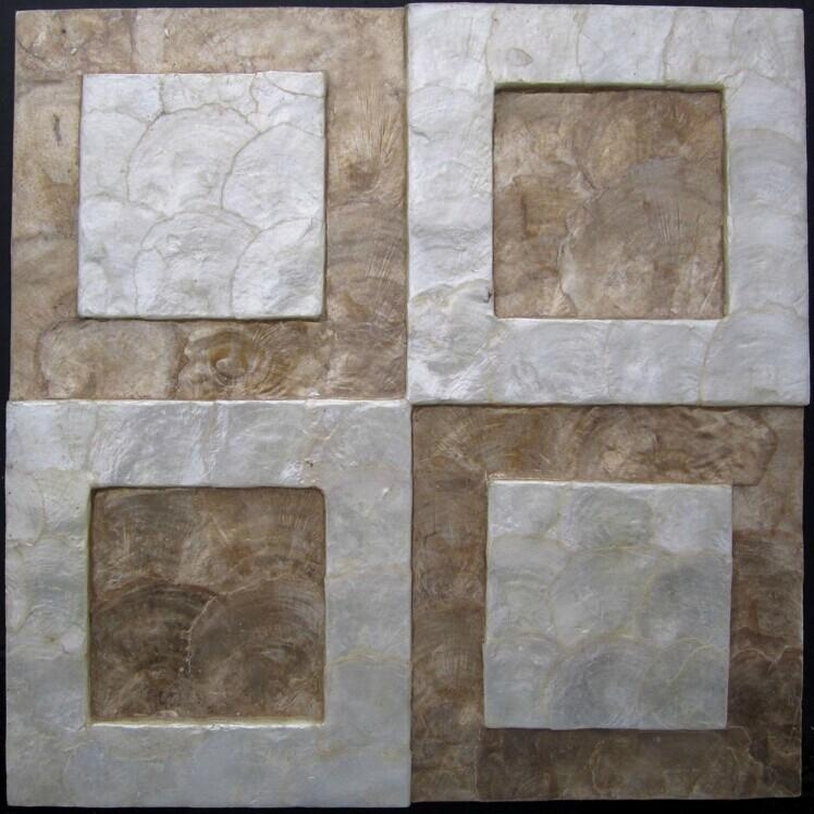Gold Mother Of Pearl Shell Mosaics Kitchen Wall Tiles Backsplash In Mother Of Pearl Wall Art (View 16 of 20)