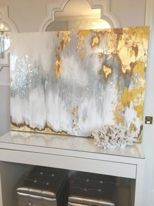 Gorgeous Silver And Gold Wall Art | Best Office Chair Blog's For Silver And Gold Wall Art (Image 16 of 20)