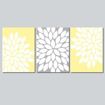 Gray And Yellow Design Inspiration Yellow Wall Art – Home Decor Ideas Inside Gray And Yellow Wall Art (Image 11 of 20)