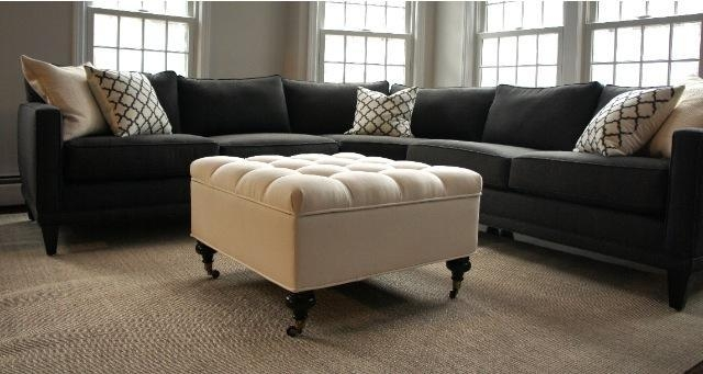 Gray Sectional Sofa Design: 16 Amazing Charcoal Gray Sectional With Charcoal Gray Sectional Sofas (Image 11 of 20)