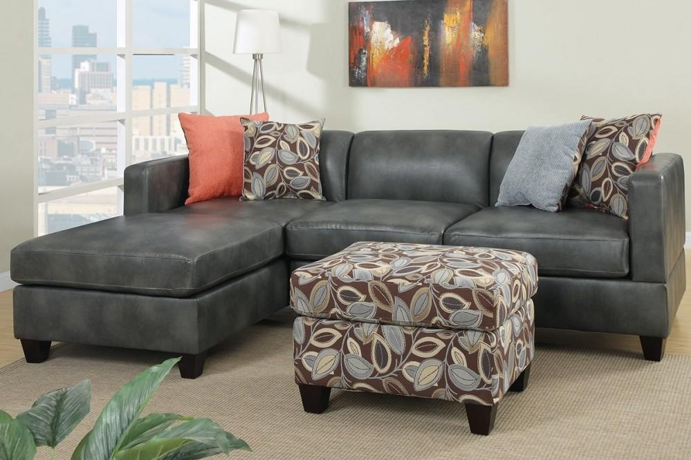 Great Leather Sleeper Sectional Sofa With Brown Leather Sectional Throughout Charcoal Grey Leather Sofas (Image 11 of 20)