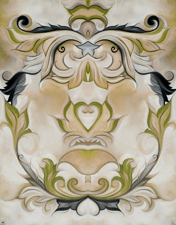 Green Country French Wall Decor Paintingheidi Vaught With Country French Wall Art (Image 19 of 20)