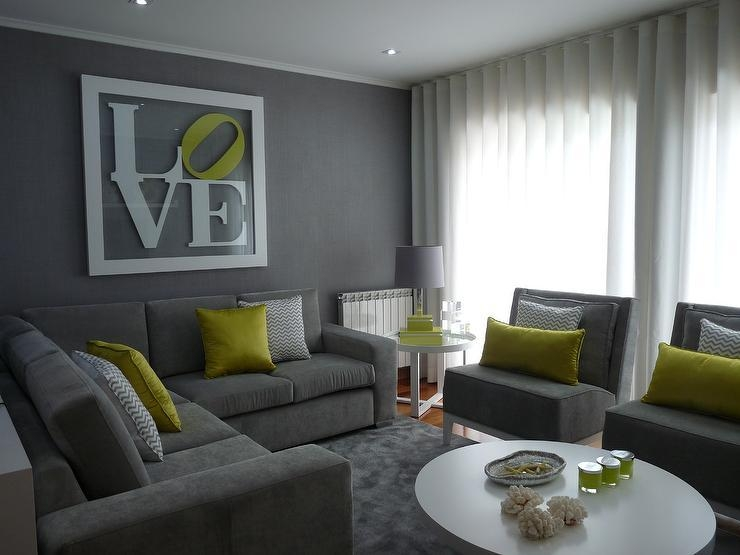 Grey Sofa Design Ideas With Regard To Living Room With Grey Sofas (View 14 of 20)