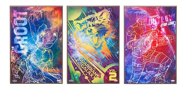 Guardians Of The Galaxy 2 Wall Art – Exclusive | Thinkgeek Pertaining To Exclusive Wall Art (Image 11 of 20)