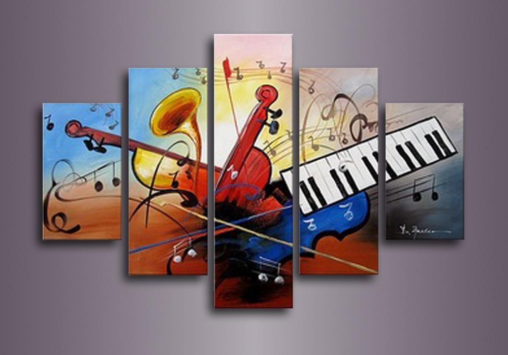 Guitar Canvas Wall Art Promotion Shop For Promotional Guitar Regarding Guitar Canvas Wall Art (View 16 of 20)